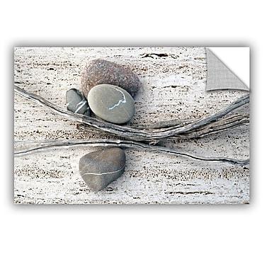 ArtWall Still Life Sticks Stones by Elena Ray Photographic Print; 16'' H x 24'' W