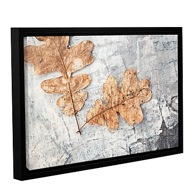 ArtWall Still Life Two Leaves by Elena Ray Framed Photographic Print on Wrapped Canvas