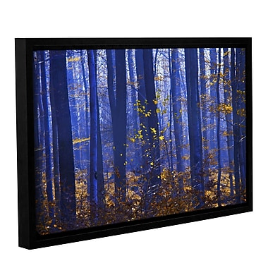 ArtWall Blue Forest by Lindsey Janich Framed Photographic Print on Wrapped Canvas; 32'' H x 48'' W