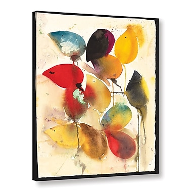 ArtWall Mice by Karin Johannesson Framed Painting Print on Wrapped Canvas; 48'' H x 36'' W