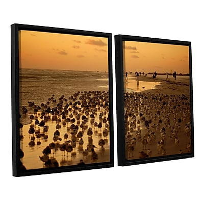 ArtWall 0807A by Lindsey Janich 2 Piece Framed Photographic Print on Canvas Set; 32'' H x 48'' W