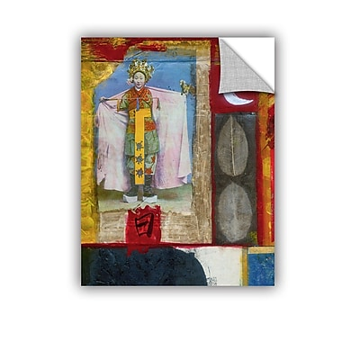 ArtWall Chinese Moon Queen by Elena Ray Removable Painting Print; 18'' H x 14'' W