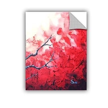 ArtWall Ruby by Shiela Gosselin Removable Painting Print; 18'' H x 14'' W