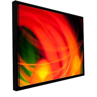 ArtWall Abstract by Revolver Ocelot Framed Graphic Art on Wrapped Canvas; 32'' H x 48'' W