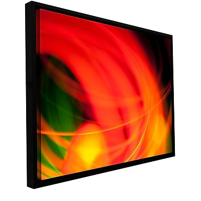 ArtWall Abstract by Revolver Ocelot Framed Graphic Art on Wrapped Canvas; 12'' H x 18'' W