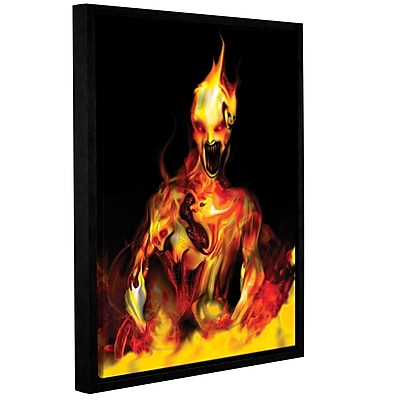 ArtWall Caesium 137 by Michael L Stewart Framed Graphic Art on Wrapped Canvas; 48'' H x 36'' W