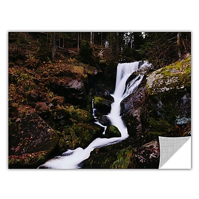 ArtWall River Flow by Revolver Ocelot Removable Photographic Print; 32'' H x 48'' W