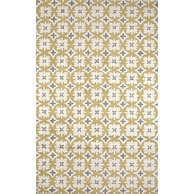 Tuft & Loom Elsa Ivory/Gold Area Rug; 5' X 8'
