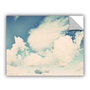 ArtWall Clouds on a Beautiful Day by Elena Ray Wall Decal; 36'' H x 48'' W
