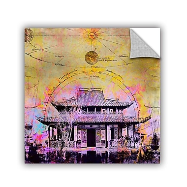 ArtWall Celestial Temple by Elena Ray Graphic Art; 18'' H x 18'' W