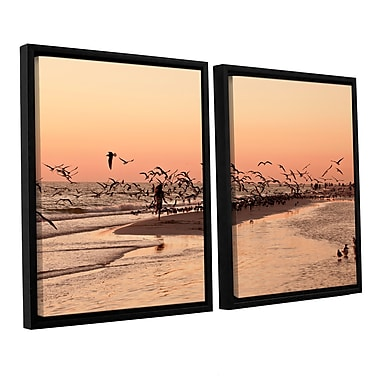 ArtWall More by Lindsey Janich 2 Piece Framed Photographic Print on Wrapped Canvas Set