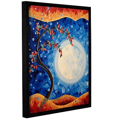 ArtWall Welcome Home by Shiela Gosselin Framed Painting Print on Wrapped Canvas; 24'' H x 18'' W