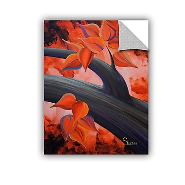 ArtWall Life Journey by Shiela Gosselin Removable Painting Print; 24'' H x 18'' W