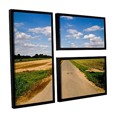 ArtWall _6983 by Lindsey Janich 3 Piece Framed Photographic Print on Canvas Set