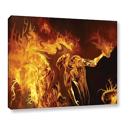 ArtWall Pyro by Michael L Stewart Graphic Art on Wrapped Canvas