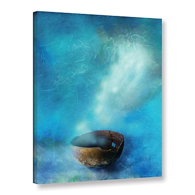 ArtWall Broken Bowl by Elena Ray Graphic Art on Wrapped Canvas; 18'' H x 24'' W