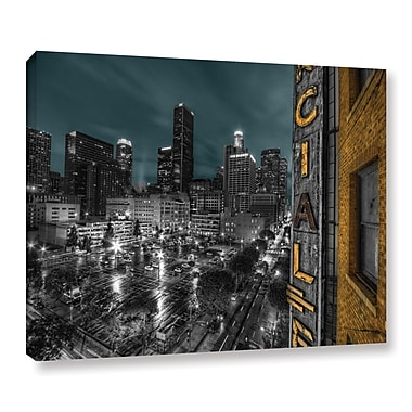 ArtWall L.A. by Revolver Ocelot Graphic Art on Wrapped Canvas; 24'' H x 32'' W