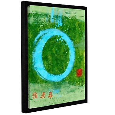 ArtWall Strong Tao by Elena Ray Framed Painting Print on Wrapped Canvas; 48'' H x 36'' W