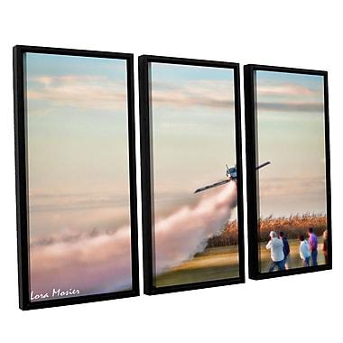 ArtWall 'Lora Mosier's' 3 Piece Framed Photographic Print on Canvas Set