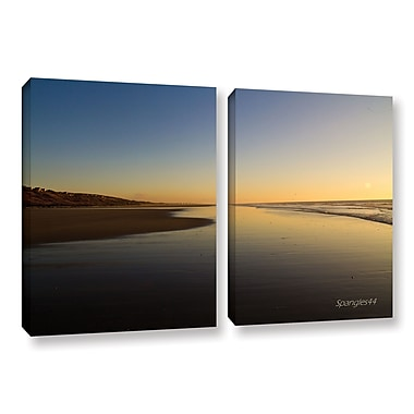 ArtWall Equihen Plage by Lindsey Janich 2 Piece Photographic Print on Wrapped Canvas Set