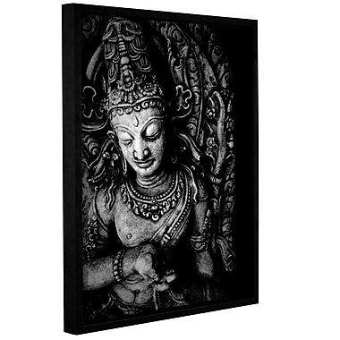 ArtWall Buddha by Elena Ray Floater Framed Photographic Print on Wrapped Canvas; 48'' H x 36'' W