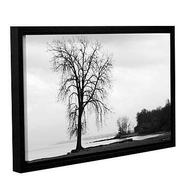 ArtWall Im Right on The Edge by Lora Mosier Framed Photographic Print on Wrapped Canvas