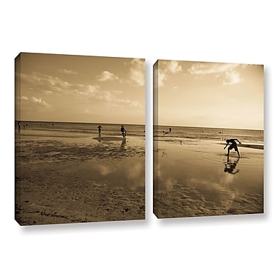 ArtWall _0397 by Lindsey Janich 2 Piece Photographic Print on Wrapped Canvas Set; 24'' H x 36'' W