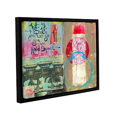 ArtWall Art Journal Let Go by Elena Ray Framed Painting Print on Wrapped Canvas; 14'' H x 18'' W