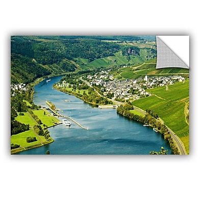 ArtWall Enkrich, Mosel River by Lindsey Janich Removable Photographic Print; 12'' H x 18'' W