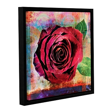 ArtWall Rose by Elena Ray Framed Painting Print on Wrapped Canvas; 24'' H x 24'' W