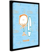 ArtWall I am Swell by F(Felittle) Kamriana Framed Graphic Art on Wrapped Canvas; 24'' H x 18'' W