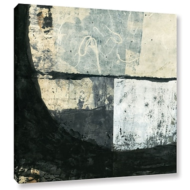 ArtWall Black Ink by Elena Ray Painting Print on Wrapped Canvas; 24'' H x 24'' W