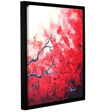 ArtWall Ruby by Shiela Gosselin Framed Painting Print on Wrapped Canvas; 32'' H x 24'' W