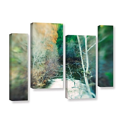 ArtWall Calm River by Elena Ray 4 Piece Photographic Print on Wrapped Canvas Set; 24'' H x 36'' W