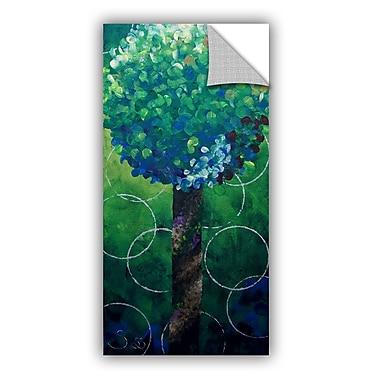ArtWall Lolli Pop Green by Shiela Gosselin Removable Painting Print; 36'' H x 18'' W