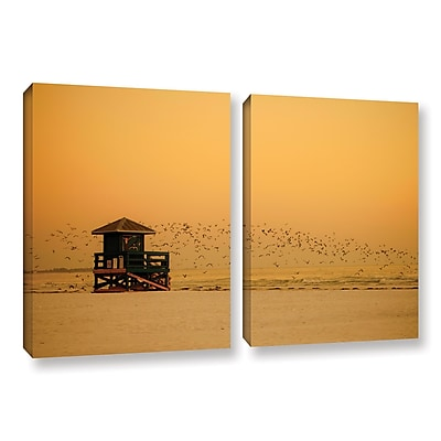 ArtWall 1095Aa by Lindsey Janich 2 Piece Photographic Print on Wrapped Canvas Set; 24'' H x 36'' W