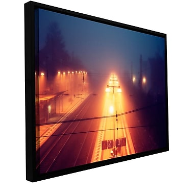 ArtWall Night Adventure by Revolver Ocelot Framed Photographic Print on Wrapped Canvas