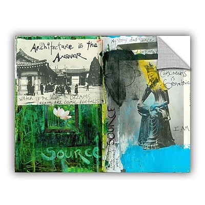 ArtWall Art Journal Architecture by Elena Ray Removable Painting Print; 14'' H x 18'' W