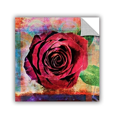 ArtWall Rose by Elena Ray Painting Print; 36'' H x 36'' W