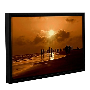 ArtWall Sunart1B by Lindsey Janich Framed Photographic Print on Wrapped Canvas; 16'' H x 24'' W