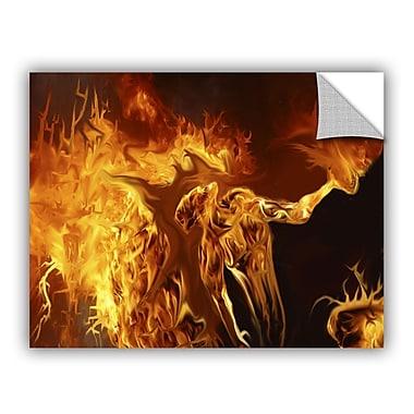 ArtWall Pyro by Michael L Stewart Removable Graphic Art; 14'' H x 18'' W