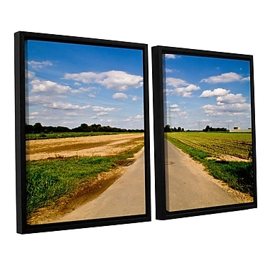 ArtWall _6983 by Lindsey Janich 2 Piece Framed Photographic Print on Wrapped Canvas Set (Set of 2)