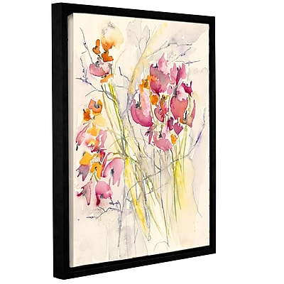 ArtWall Karin Johannesson's Framed Painting Print on Wrapped Canvas; 18'' H x 14'' W