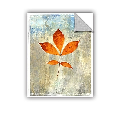 ArtWall Leaf I by Elena Ray Removable Painting Print; 18'' H x 14'' W