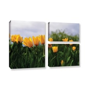 ArtWall 'Tulips' by Lindsey Janich 3 Piece Photographic Print on Wrapped Canvas Set