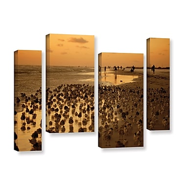 ArtWall 0807A by Lindsey Janich 4 Piece Photographic Print on Wrapped Canvas Set