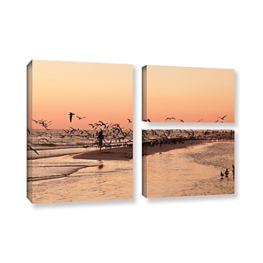 ArtWall 'More' by Lindsey Janich 3 Piece Photographic Print on Wrapped Canvas Set