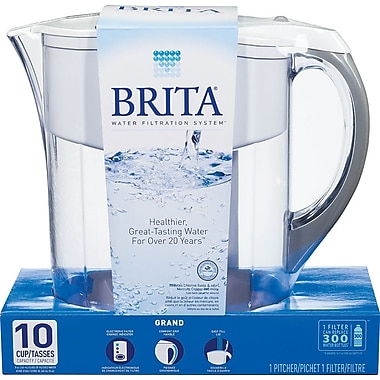 Brita Grand Pitcher, White
