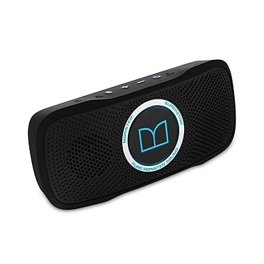 Monster – Haut-parleur Bluetooth HD SuperStar™ BackFloat™, noir avec bleu fluo