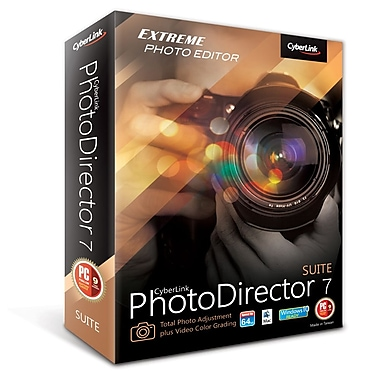 CyberLink – PhotoDirector 7 Suite (Windows), téléchargement